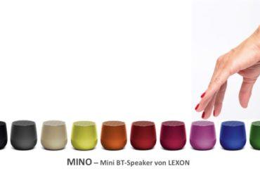Mino - der neue Mini Bluetooth Speaker von LEXON!