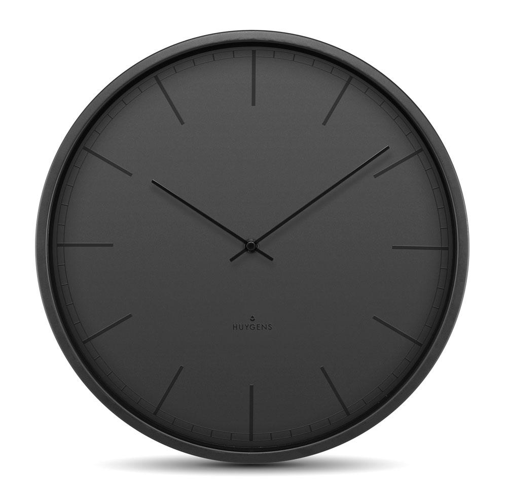Huygens Silent Clock - Tone Black