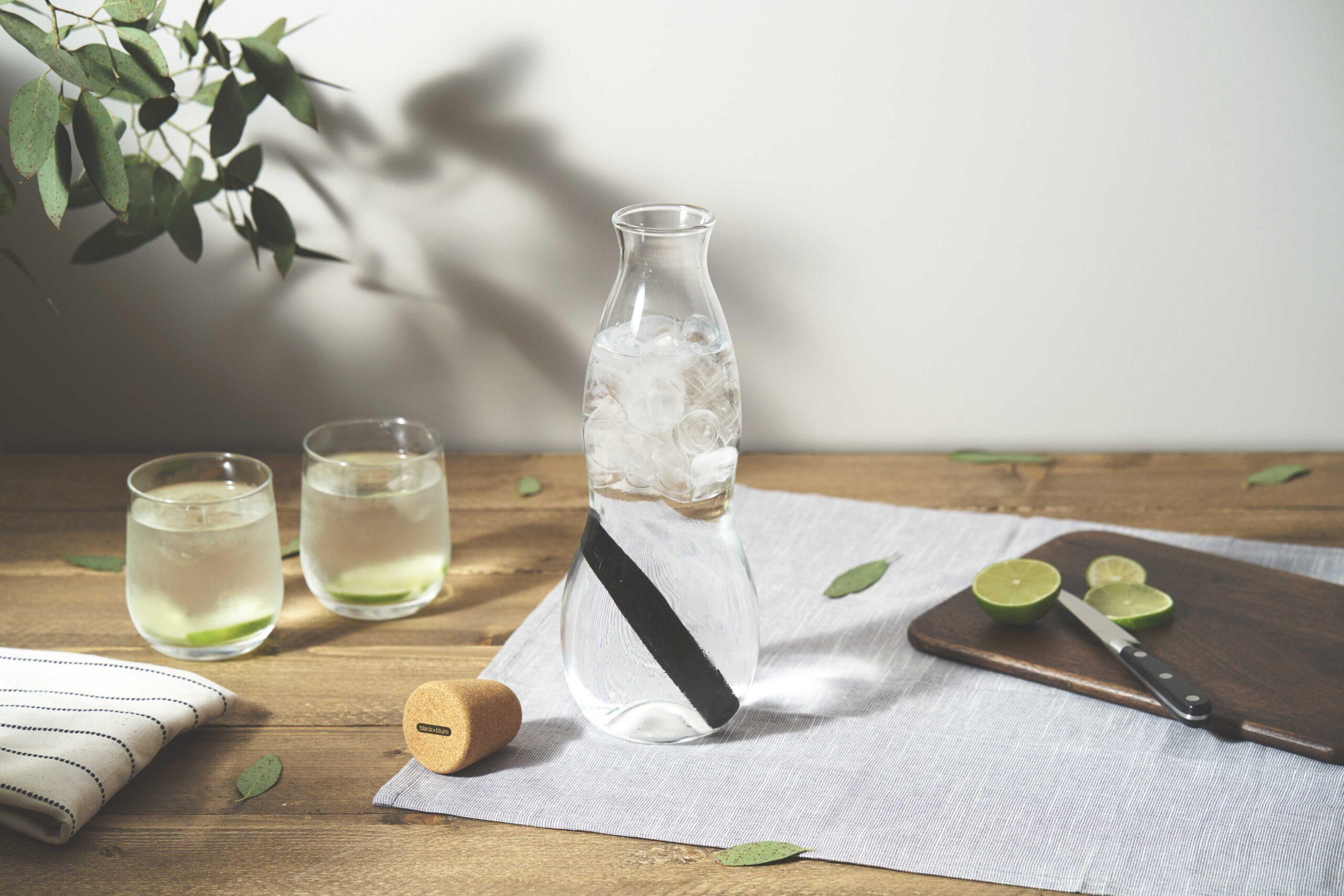 Ec001 eau carafe situ lime