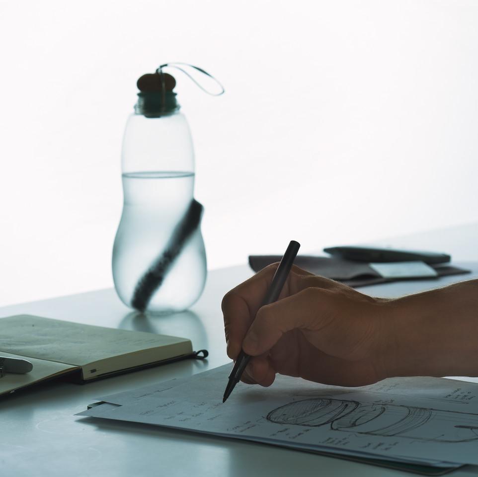 Design black blum zeichnen