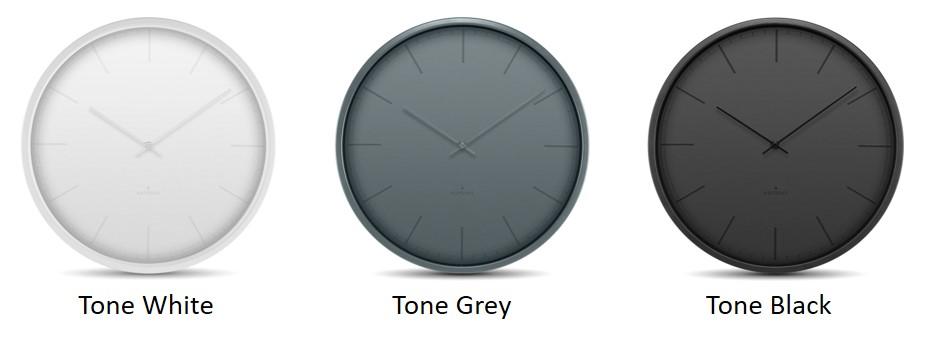 Huygens tone white grey black