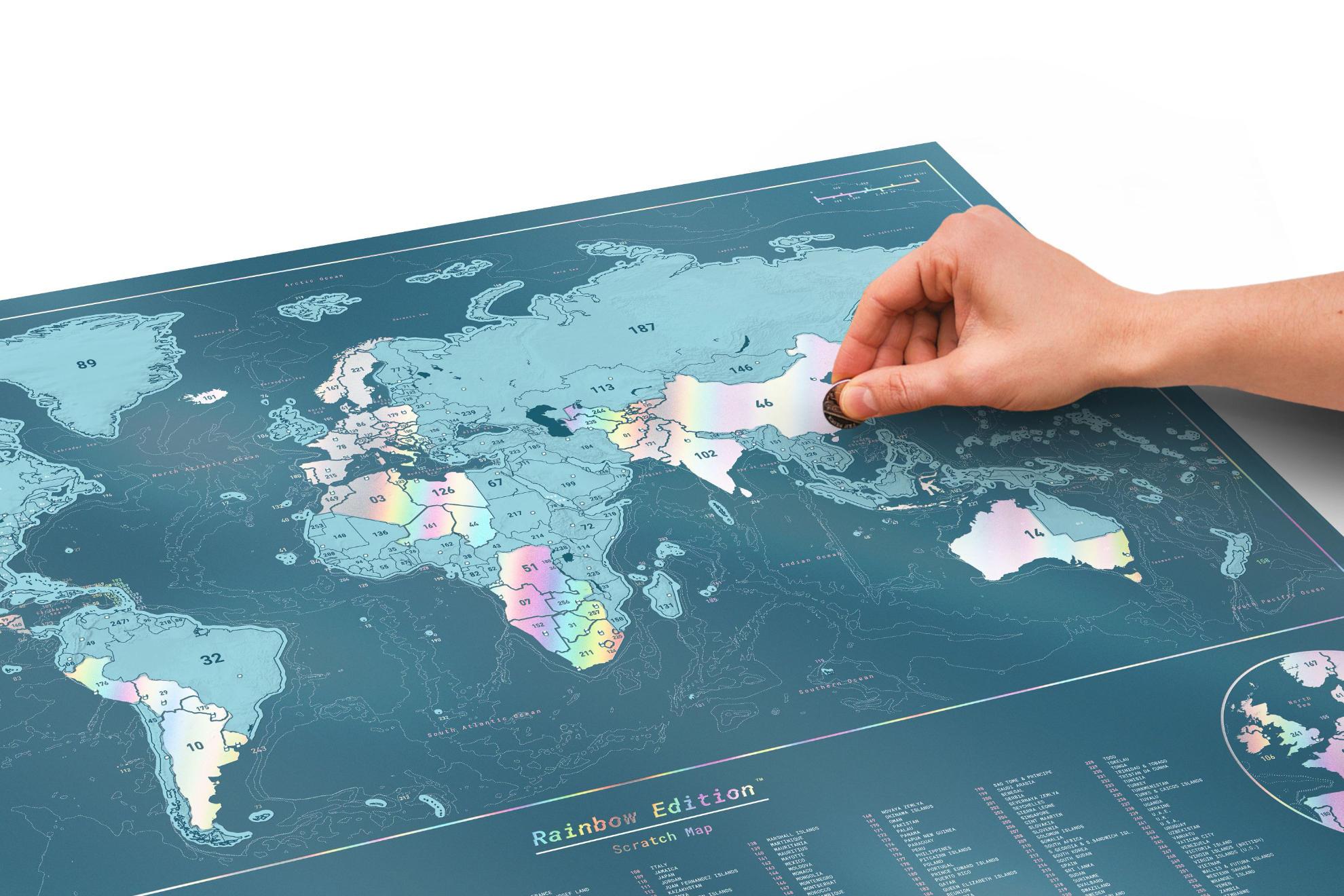 Scratch map luckies lprhc 1980 1320